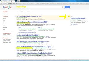 Nickswebworks earns coveted Sitelinks in Google SERP the holy grail of search engine marketing